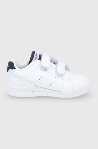 Pepe Jeans - Detské kožené topánky Lambert