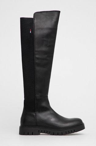 Tommy Jeans - Δερμάτινες μπότες