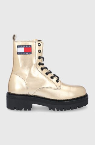 Tommy Jeans - Workery skórzane
