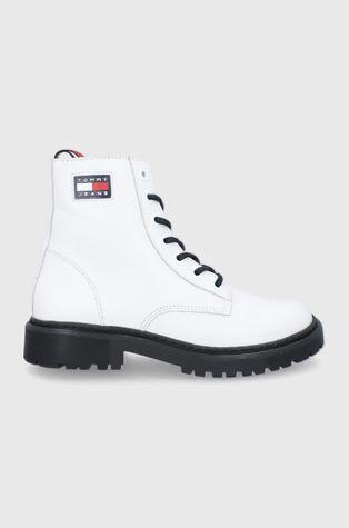 Tommy Jeans - Kožené workery