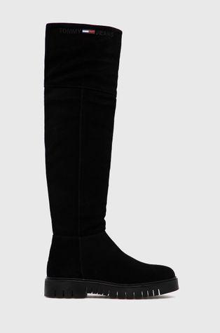 Tommy Jeans - Μπότες σούετ