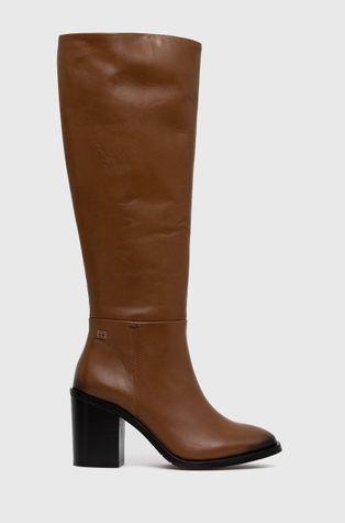 Tommy Hilfiger - Шкіряні чоботи