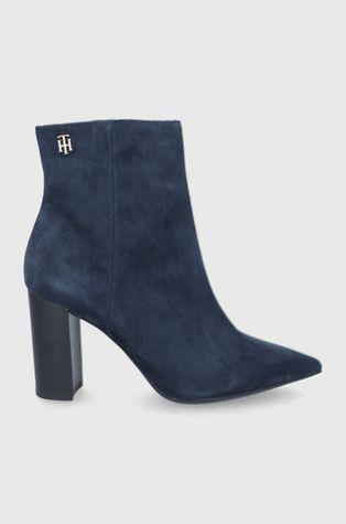 Tommy Hilfiger - Semišové boty