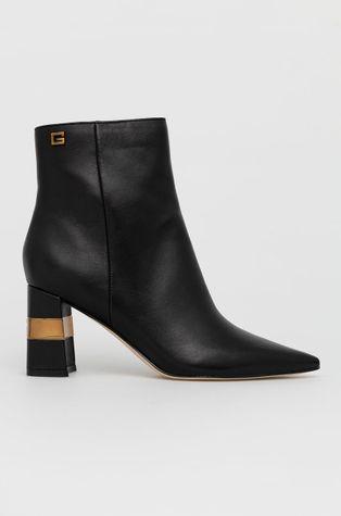 Guess - Kožené kotníkové boty