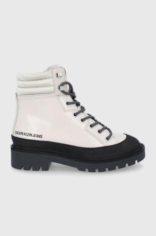 Calvin Klein Jeans - Workery skórzane