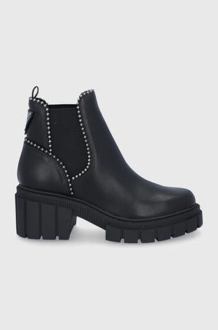 Guess - Δερμάτινες μπότες Τσέλσι