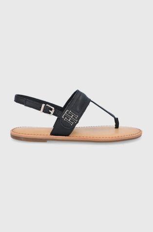 Tommy Hilfiger - Sandały skórzane
