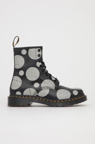 Dr. Martens - Kožené kotníkové boty 1460