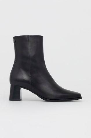 Gant - Kožené kotníkové boty Keyla