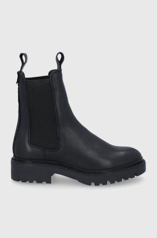 Gant - Δερμάτινες μπότες Τσέλσι Kelliin