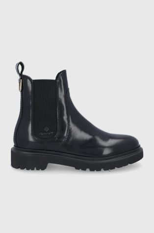 Gant - Kožené kotníkové boty Malinca