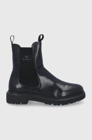 Gant - Δερμάτινες μπότες Τσέλσι Malinca