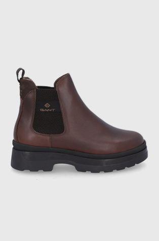 Gant - Δερμάτινες μπότες Τσέλσι Windpeak