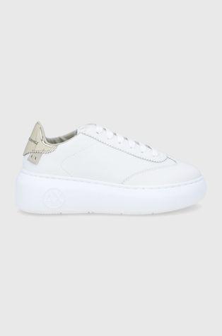 Armani Exchange - Kožené boty