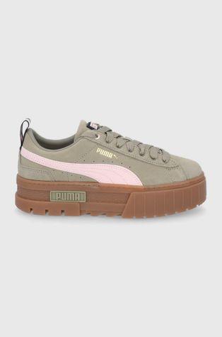 Puma - Velúr cipő Mayze Gum