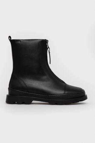 Camper - Kožené členkové topánky Brutus