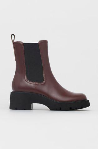 Camper - Kožené kotníkové boty Milah