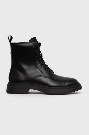 Camper - Kožené kotníkové boty Walden