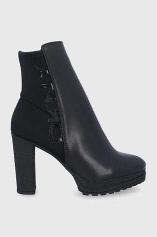 Dkny - Δερμάτινες μπότες Tessi