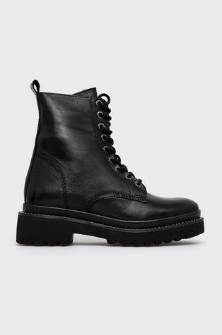 Aldo - Kožené kotníkové boty Ceranda