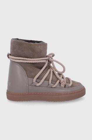 Inuikii - Δερμάτινες μπότες χιονιού Classic Wedge