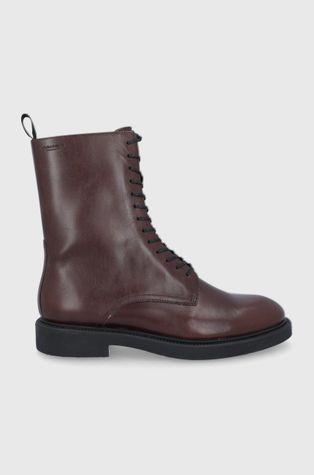 Vagabond - Kožené kotníkové boty Alex