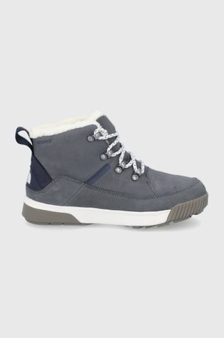 The North Face - Δερμάτινα παπούτσια Sierra Mid Lace