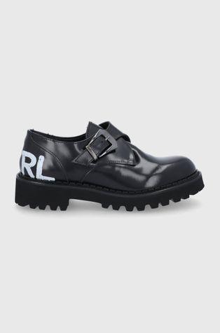 Karl Lagerfeld - Кожаные туфли