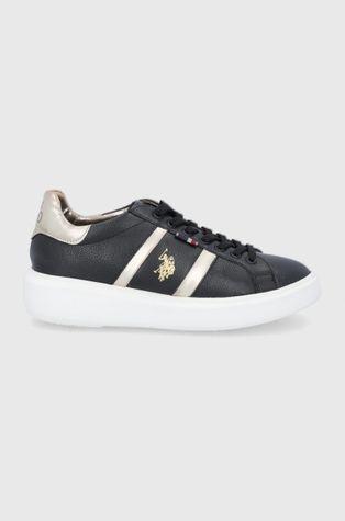 U.S. Polo Assn. - Кожени обувки