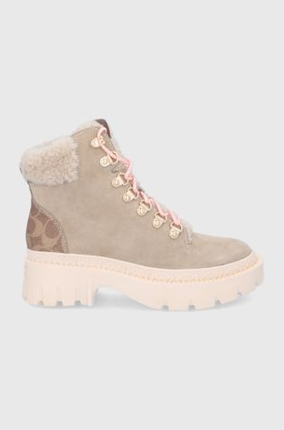 Coach - Замшевые ботинки