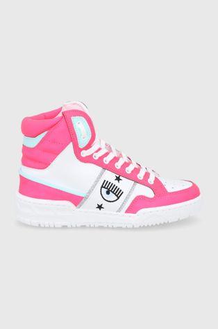 Chiara Ferragni - Кожени обувки High