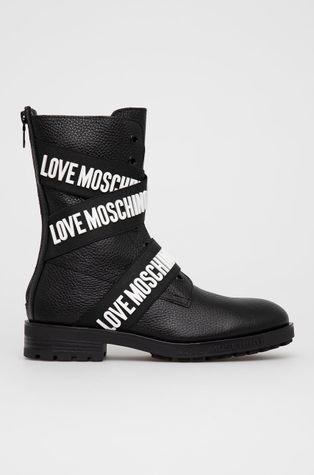 Love Moschino - Botki skórzane