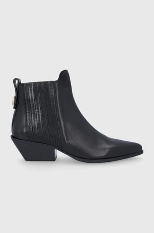 Furla - Westernové kožené boty West