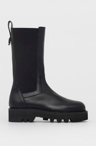 Furla - Kožené kotníkové boty Rita