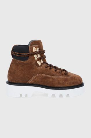 Furla - Workery zamszowe Rita Hiking Boot