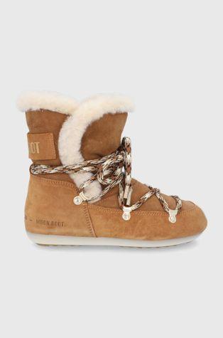 Moon Boot - Μπότες χιονιού σουέτ Side High Shearling