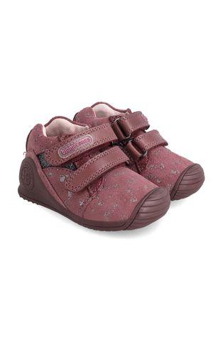 Biomecanics - Дитячі замшеві туфлі