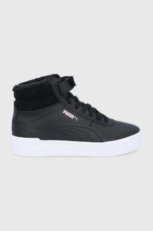 Puma - Детски обувки Carina Mid Fur