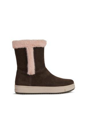 Geox - Pantofi din piele intoarsa pentru copii
