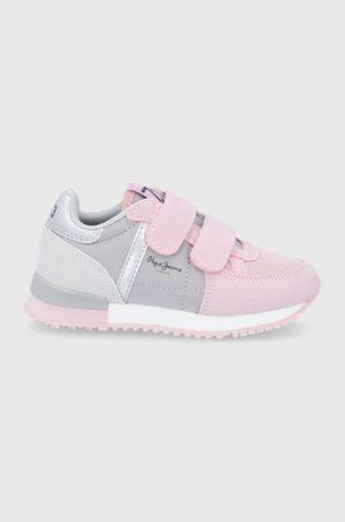 Pepe Jeans - Detské topánky Sydney Combi Girl