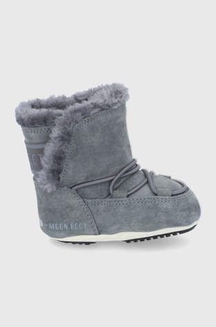 Moon Boot - Śniegowce zamszowe dziecięce Crib