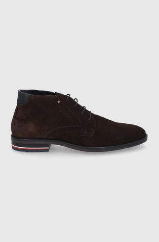 Tommy Hilfiger - Замшевые кроссовки