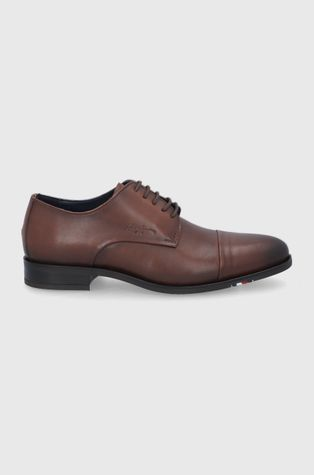 Tommy Hilfiger - Кожени половинки обувки
