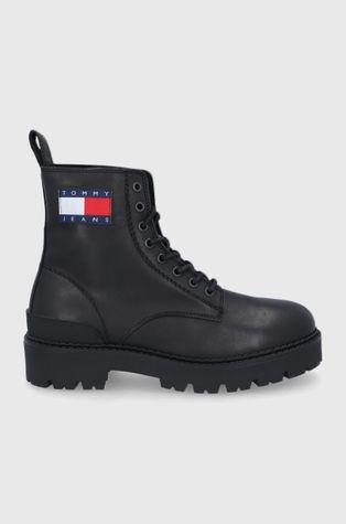 Tommy Jeans - Кожаные ботинки