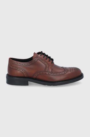 Hugo - Кожени половинки обувки