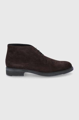 Boss - Semišové boty