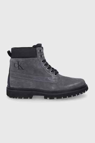 Calvin Klein Jeans - Semišové boty