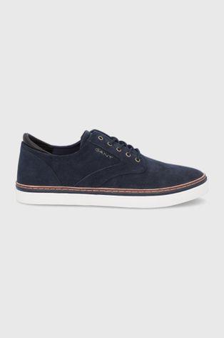 Gant - Половинки обувки от велур Prepville