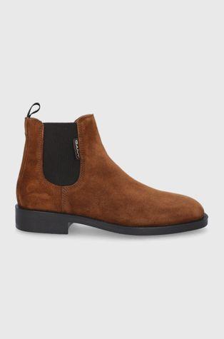 Gant - Замшеві черевики Brockwill