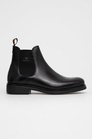 Gant - Шкіряні черевики Brookly